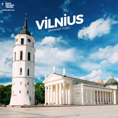 Vilnius is a baroque city