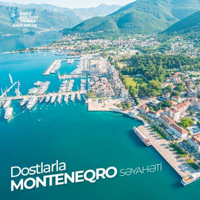 Travel to Montenegro with friends