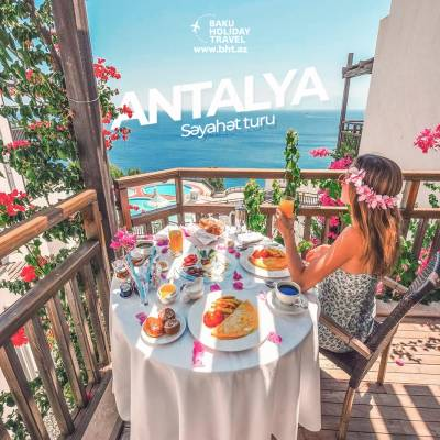 Beautiful summer in Antalya