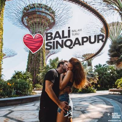 Travel to Bali and Singapore