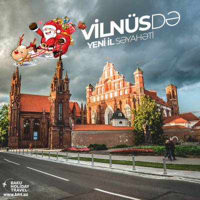 New Year in Vilnius