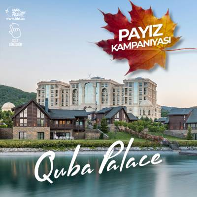 Autumn discount in Quba Palace