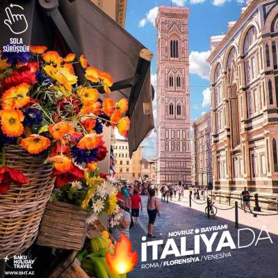 Trip to Italy on the eve of Novruz