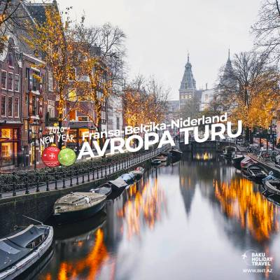 New Year travel in Europe