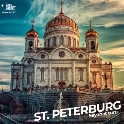 Tour to Saint Petersburg