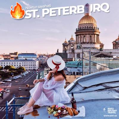 Novruz tour to St. Petersburg