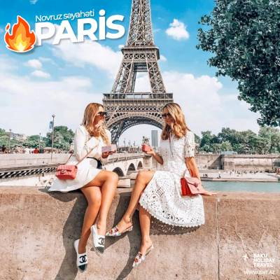 Travel to Paris on Novruz holiday