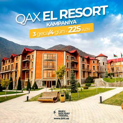 Кампания в Qax El Resort