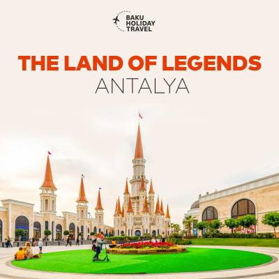 Uşaqlar gününü THE LAND OF LEGENDS'da!